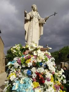 Monumento de Sor María en la Concepción de Ágreda