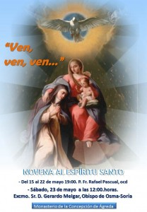 Sor María de Jesús y el Espíritu Santo