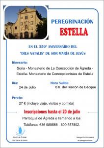Cartel Peregrinación Estella