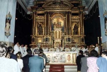 Eucaristía Solemne día 2 de Abril 2002