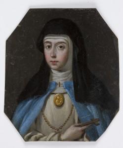 Miniatura de Sor María Museo del Prado