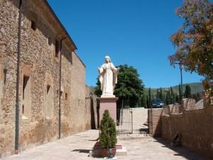 Fachada del Monasterio de Ágreda