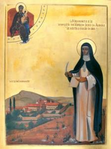 Icono de Sor María de Jesús