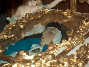 Incorrupt body of Sor María of Jesus