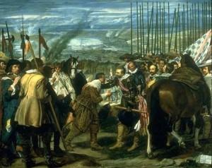 Las Lanzas o La rendición de Breda. Velázquez