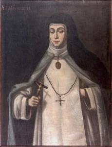 Lienzo de Sor María de Jesús de Ágreda
