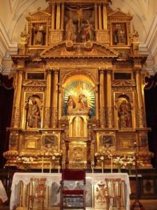 Retablo de la Capilla del Monasterio de la Concepción de Ágreda