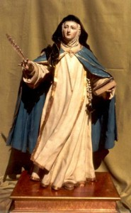 Size of Sor Maria of Jesus attributed to Luis Salvador Carmona, 1765